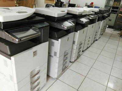 *全球* A3複合式影印機傳真機印表機掃描/多功能事務機/彩色25000元出租1000元/黑白12000元出租1000元
