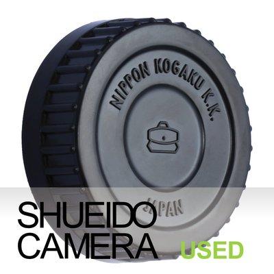 集英堂写真機【1個月保固】美品 NIKON NIPON KOGAKU K.K 原廠 經典造型 後鏡頭蓋 #5 15878