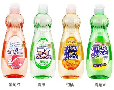 【JPGO】日本製 ROCKET 食器洗潔精 洗碗精 600ml 共四款 #956 758 437 019
