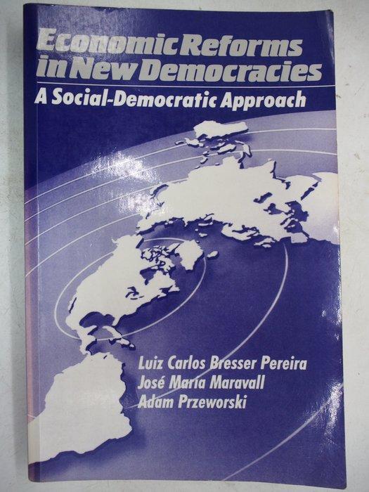 【月界二手書店】Economic Reforms in New Democracies_Pereira 〖政治〗AJT