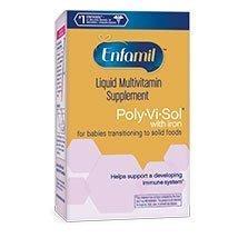 【美國便宜購】2盒郵寄免運美強生Enfamil Poly-Vi-Sol 寶益兒 綜合維他命滴劑 - 含鐵/不含鐵