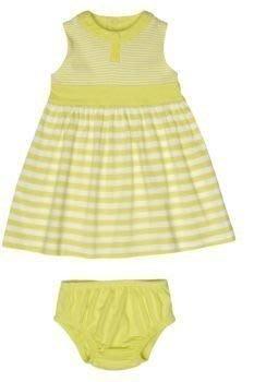 【Nichole's歐美進口優質童裝】Carter's女童檸檬黃條紋連身裙/洋裝(附小褲)*另有Old Navy/OshKosh