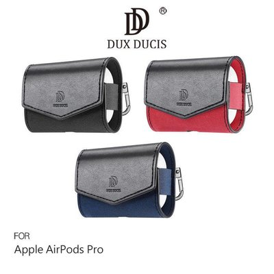 *Phone寶*DUX DUCIS Apple AirPods Pro MIX 雙色拼接PU皮紋保護套 蘋果耳機套