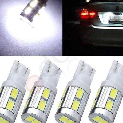 ◇光速LED精品◇T10 5630 10SMD 炸彈燈泡 散光 360度 白光