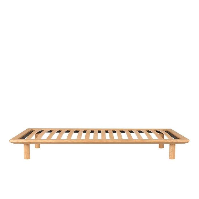 日本無印良品 muji 橡木實木單人床架+床板