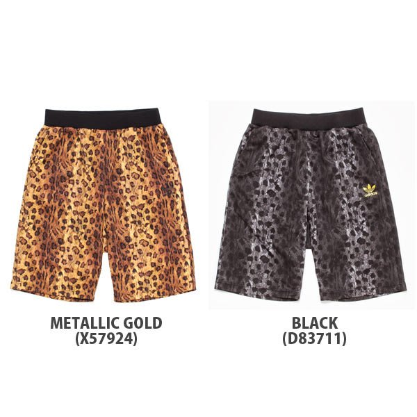 【現貨】全新正品 Kinetics 限定 Adidas Originals ANIMAL HALF PANTS Short 豹紋 短褲 兩色 XS S M