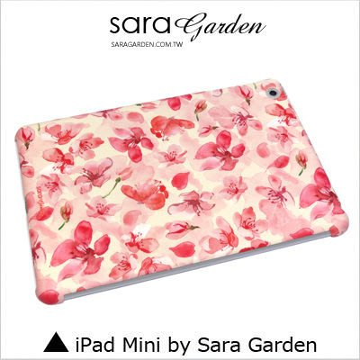 iPad Mini 1 2 3 4 客製化 保護殼 碎花花瓣【G0101729】