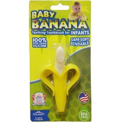[現貨在台 台灣出貨]Baby Banana brush 寶寶香蕉牙膠固齒器