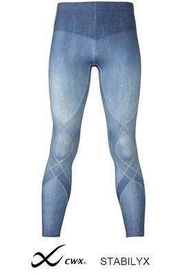 【萬中選一】WACOAL CW-X STABILYX 壓縮褲 L(MEN) 路跑登山自行車