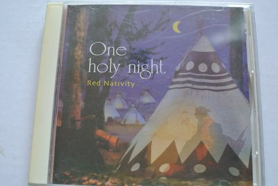CD ~ ONE HOLY NIGHT / RED NATIVITY ~ 1997 WIND  3831CD