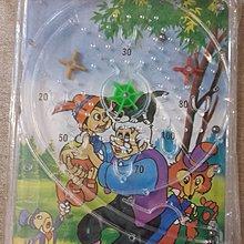 【五六年級童樂會】 早期絕版懷舊童玩 木偶奇遇記  彈珠台