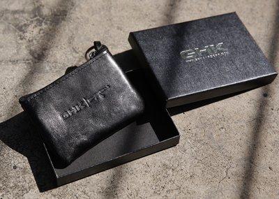 GHK 18 F/W LOGO COIN CASE 零錢包 黑色