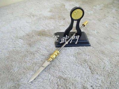 【軍武門】中國劍 迷你趙雲槍 短槍(1823-1/附刀架)收藏/擺飾/送禮