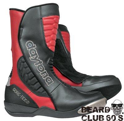 ♛大鬍子俱樂部♛ Daytona® Strive Gore-Tex 德國 手工 皮革 防水 防摔 車靴 賽車靴 R/B