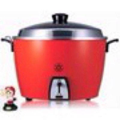 新款 現貨供應全配件  TAC-06L新款   6人份《大同原厰不鏽鋼內鍋》【 紅色 】大同電鍋 天龍國 廚房用
