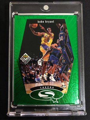 🐍1998-99 UD Choice Starquest Green #SQ13 Kobe Bryant