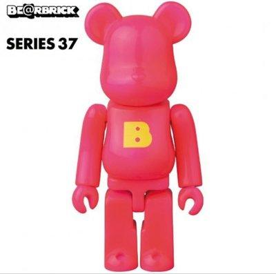 全新 Medicom 100% Bearbrick Series 37 Basic E or C 字母 Be@rbrick 1 款 💰HKD20/pc