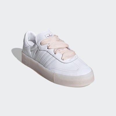 【AIRWINGS】ADIDAS Original 三葉草 FY3030 女性白色SMABAROSE休閒鞋