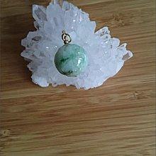 18k real jade pendant/18k 真玉吊咀