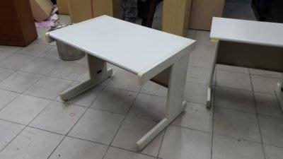 樂居二手家具*CE1122AJJB9 白面OA辦公桌*書桌 電腦桌 工作桌 辦公桌 二手辦公家具買賣/OA桌椅/文件櫃
