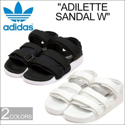 【Admonish】全新正品 Adidas Adliette Sandal  黑 白 兩色  魔鬼氈 涼鞋 愛迪達