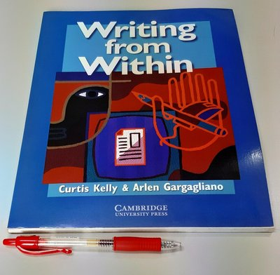英文寫作 Writing from Within (Intermediate learners)【書況極新 未使用 】