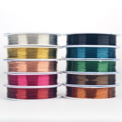 ✿輕衣坊✿ OAR 全規格銅線 纏花發簪銅絲DIY手工成品編織繩金屬引線掐絲繞線