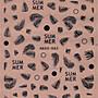 《Dear34》燙金背膠指甲貼紙HAXX- 063黑064白...