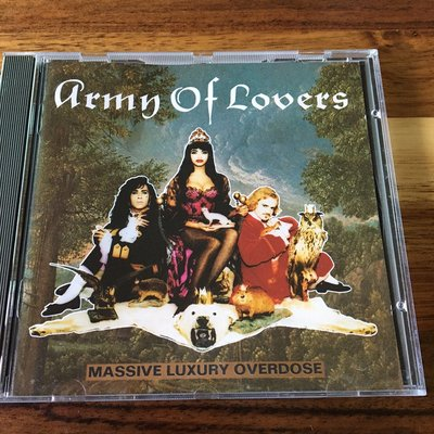 [老搖滾典藏] Army of Lovers-Massive Luxury Overdose 德版專輯