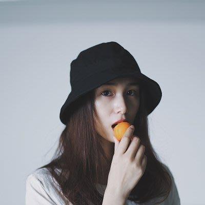 日系純色漁夫帽男女盆帽