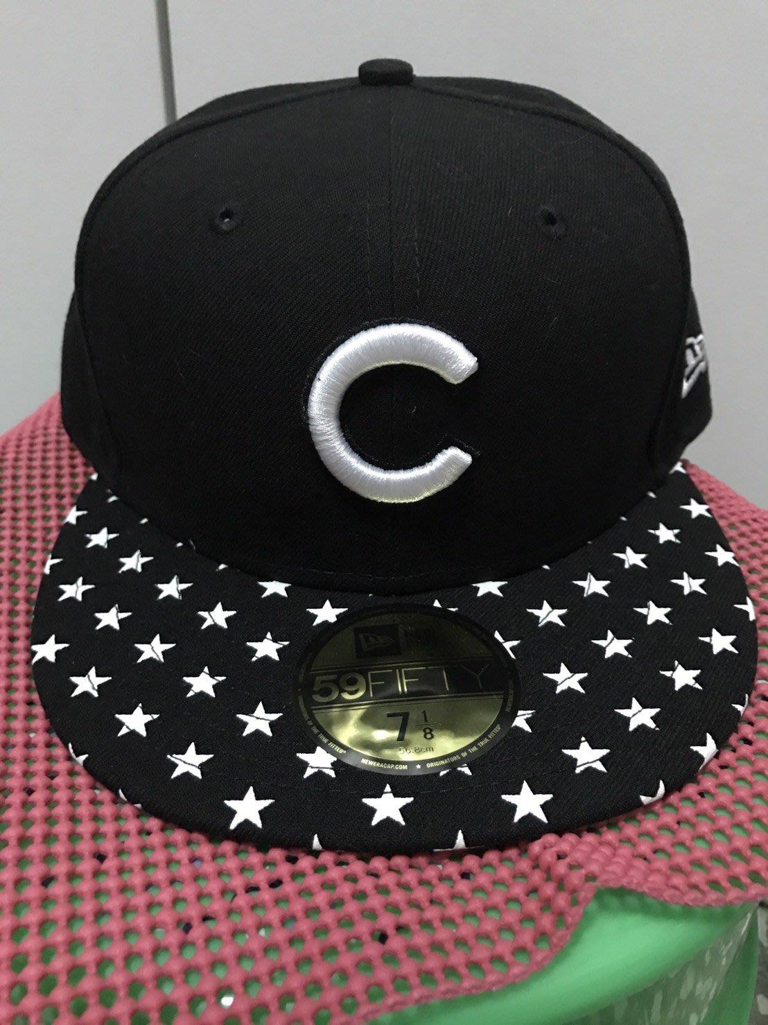 NEW ERA MLB 59FIFTY STARRY CAP CUBS 小熊 棒球帽 正品