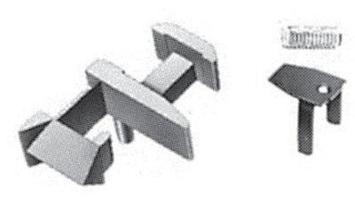 傑仲 博蘭 FLEISCHMANN 鐵軌零件 Standard coupling 9520 N