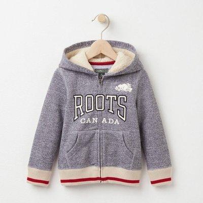 ~☆.•°莎莎~*~☆~~加拿大ROOTS BABY ROOTS ZIP HOODY 寶寶外套~