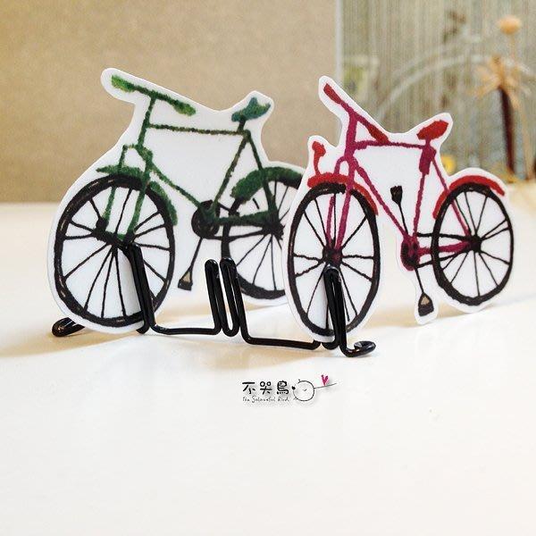 腳踏車 戶外 防水 貼紙 *北歐-腳踏車4輛組*不哭鳥
