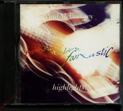 CD滿3張免運~保羅麥卡尼【TRIPPING LIVE FANTASTIC HIGHLIGHTS】前披頭四美國原版免競標