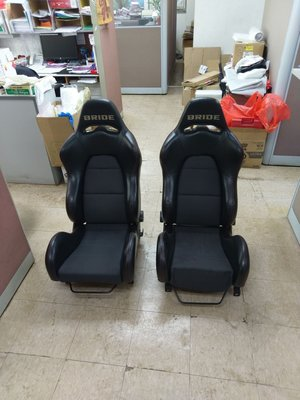 BRIDE真皮賽車座椅 100%正廠日本貨