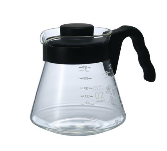 🌟現貨🌟HARIO V60好握02黑色咖啡壺 VCS-02 咖啡壺 玻璃壺 咖啡公杯 花茶壺 公杯 玻璃水瓶
