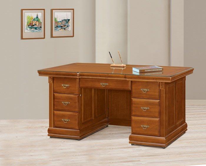 【浪漫滿屋家具】(Gp)553-2 賽德克正樟6尺實木辦公桌