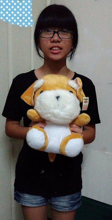 {欣娃小舖}~狗造型絨毛娃娃(坐高30cm)