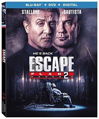 毛毛小舖--藍光BD 鋼鐵墳墓2 美國版 Escape Plan 2: Hades 席維斯史特龍