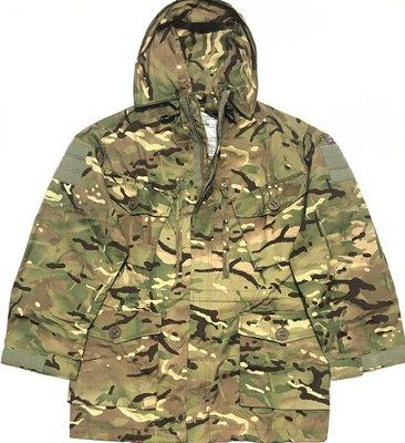英軍公發 SMOCK 野戰外套 防風罩衫 MTP 多地形迷彩 全新