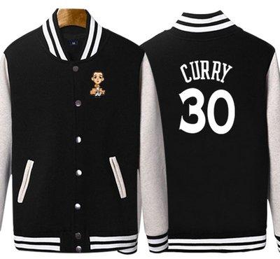 🏀柯瑞Stephen Curry庫里純棉運動厚外套🏀NBA球衣勇士隊Adidas愛迪達棒球籃球風衣休閒薄夾克男女58