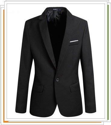 西裝外套 西服-韓版修身休閒優質男外套4色5z9[獨家進口][米蘭精品]