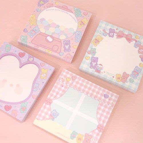 好心情日韓正品雜貨『韓國 Afrocat』PINKY HOLIC 粉紅世界便利貼 100張入 (無黏性)