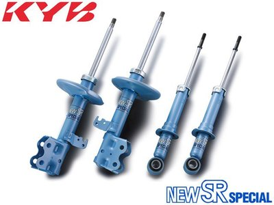【Power Parts】KYB NEW SR 藍筒 避震器 TOYOTA CAMRY 2018-