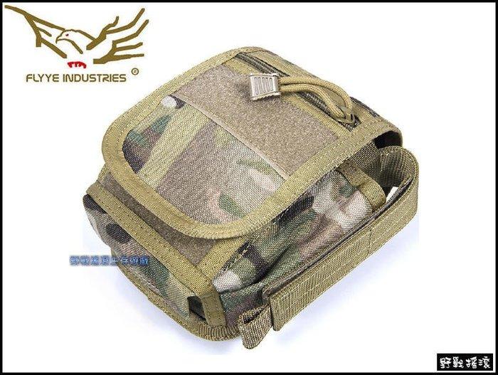 【野戰搖滾-生存遊戲】Flyye 中型勤務腰包、戰術腰包【MultiCam】多地形迷彩手機腰包工具腰包雜物包手機包