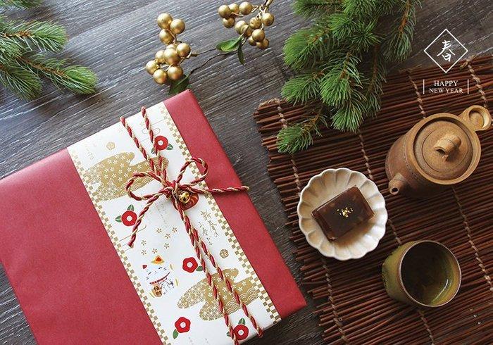 ≡☆包裝家專賣店☆≡包裝用品  新年 包裝 紙封條 福氣多多  單款30入 包裝紙 (不含任何配件)