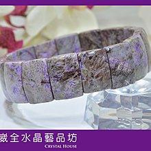 【崴全水晶】南非 國寶石 水晶 嬌豔 舒俱 徠石 手排 17*11 mm 飾品
