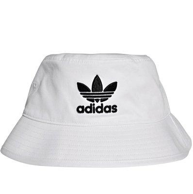 【AYW】ADIDAS ORIGINALS BUCKET HAT 大LOGO 愛迪達 三葉草 白色 經典 刺繡 漁夫帽