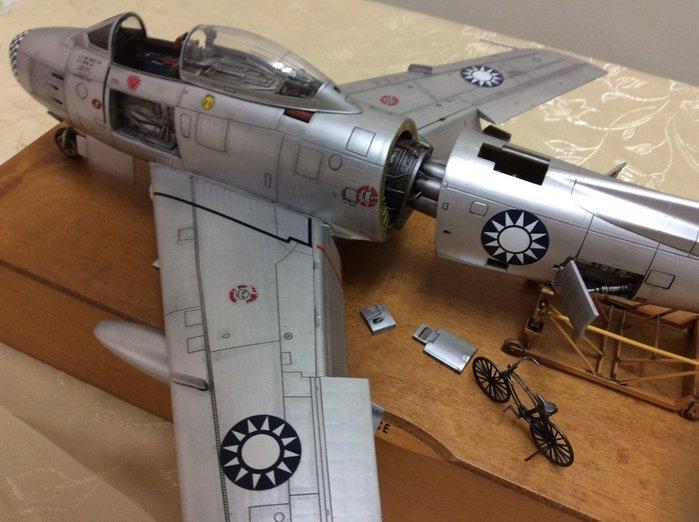 F-86分解的軍刀-f86國軍沙場老將!